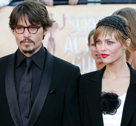 johnny depp and vanessa paradis break. Johnny Depp Y Vanessa Paradis.