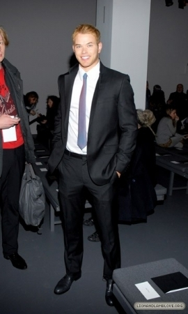 Kellan @ Calvin Klein Fashion Show