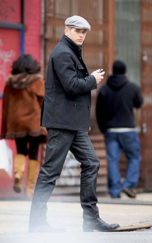 Kellan Lutz in NYC on 2/18