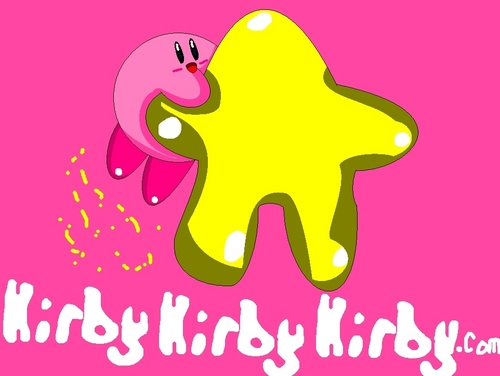 Kirby (on a star)