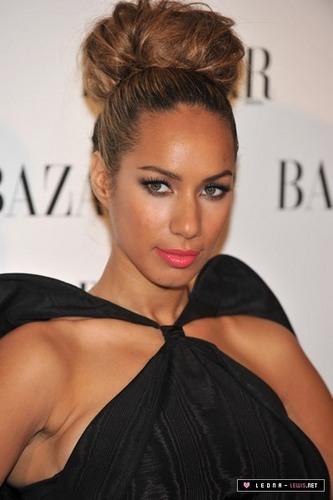 Leona at a Harper's Bazaar Presentation In Madrid