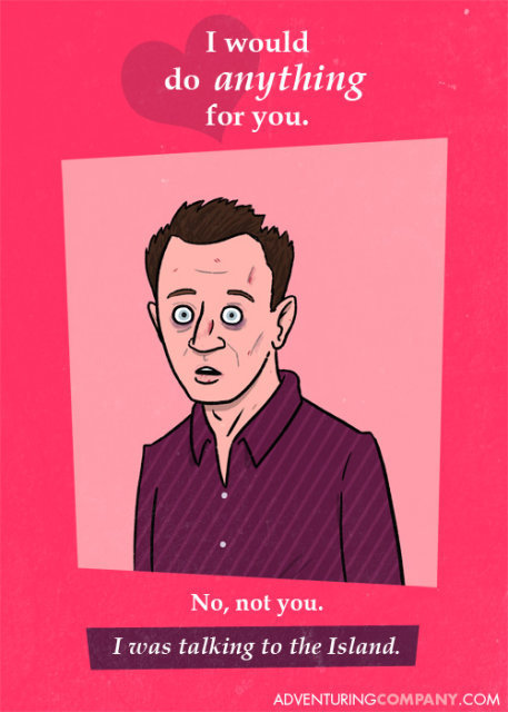 Lost - Valentines Cards