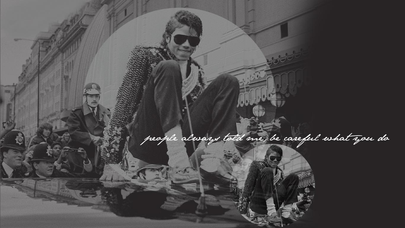 MJ پیپر وال