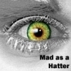 Mad Hatter 아이콘 - Mad as A Hatter