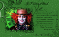 Mad Hatter kertas dinding - If I Am Not Mad