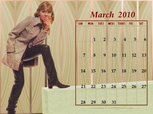 March 2010 Diana (calendar)