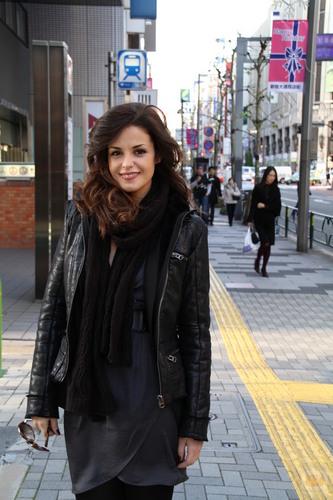 Marta torné y Yon Gonzalez en tokyo