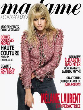 Melanie for Madame Figaro (February 2010)