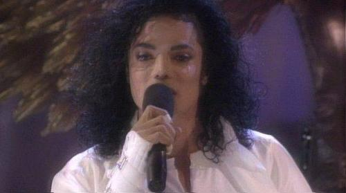 Michael Crying <3