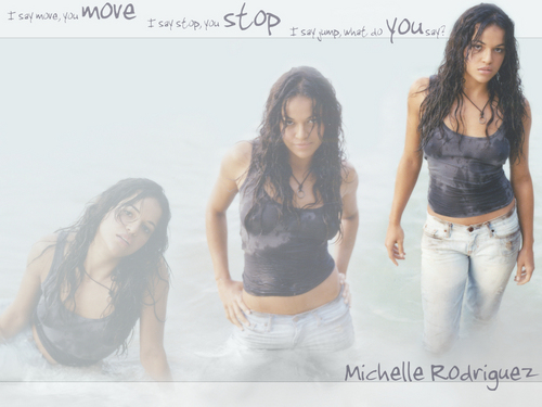 Michelle Rodriguez in Lost پیپر وال