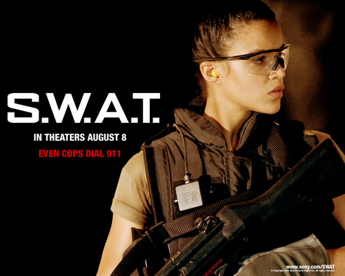 Michelle Rodriguez in S.W.A.T. Обои