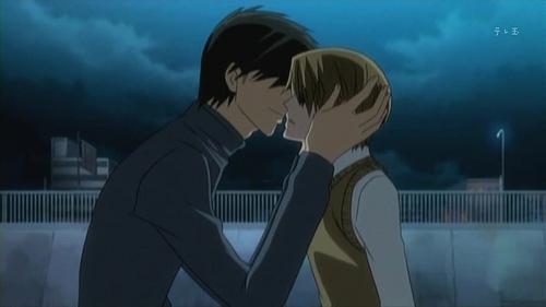 Miyagi and Shinobu kiss&co