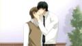 Miyagi and Shinobu kiss