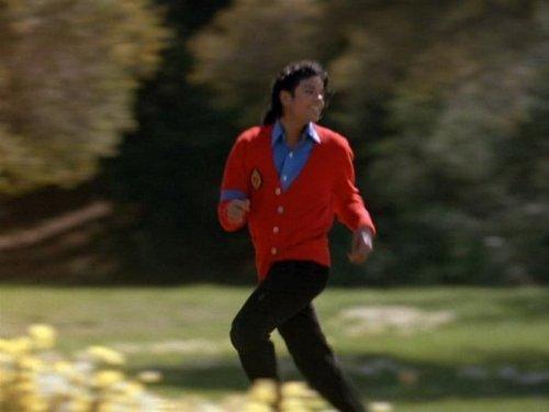 Moonwalker, MJ looks HOT in red ;) <3