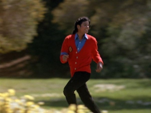 Moonwalker, MJ looks HOT in red ;) <3