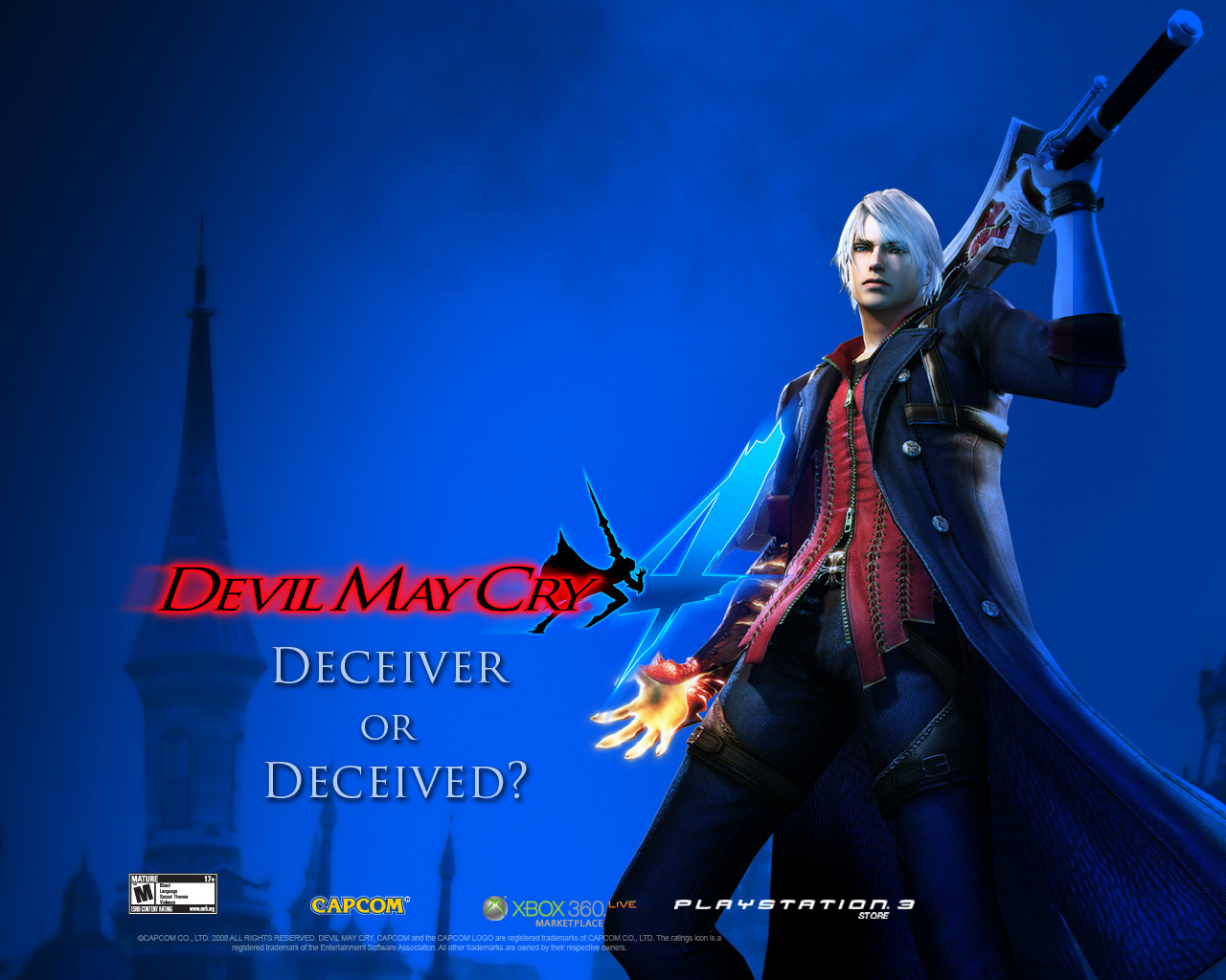 Nero Devil May Cry 4 Wallpaper 10480361 Fanpop