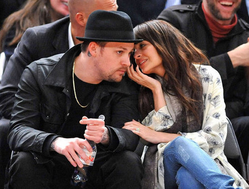 Nicole and Joel watching the NY Nicks (Feb 17)