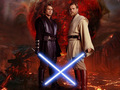 Obi-Wan and Anakin - obi-wan-kenobi-and-anakin-skywalker wallpaper