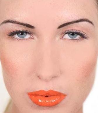 কমলা Lips