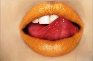 नारंगी, ऑरेंज Lips