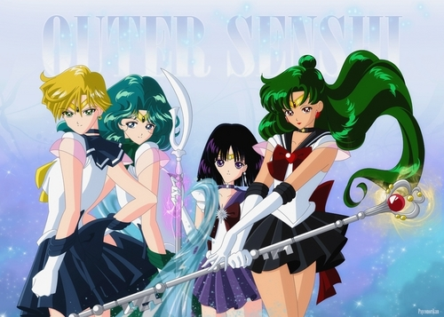Outer Senshi fan art