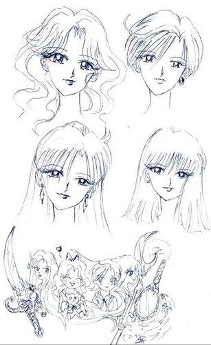 Outer Senshi fan art