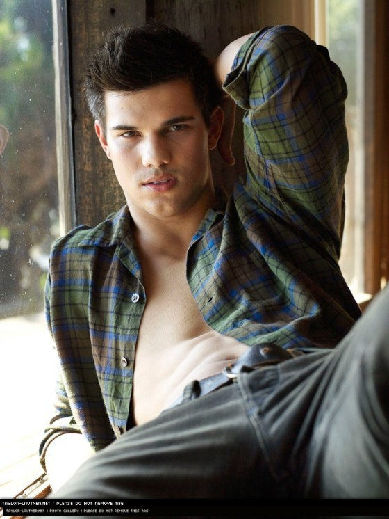 Outtake Of Taylor Lautner From The Rolling Stone