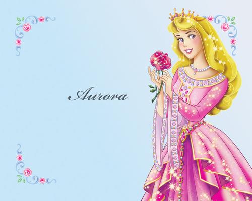 Princess Aurora karatasi la kupamba ukuta called Princess Aurora