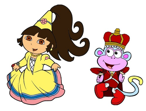 Princess Dora and Prince Boots