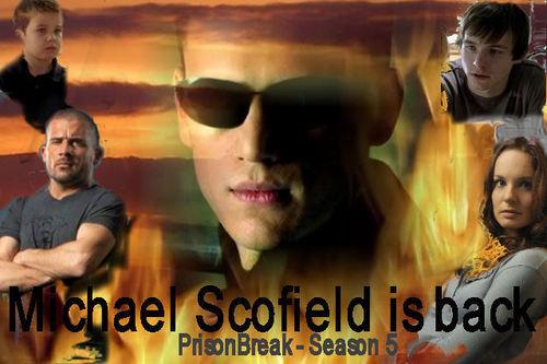 Prison Break - Michael Scofield is back