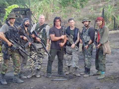 Rambo's Men