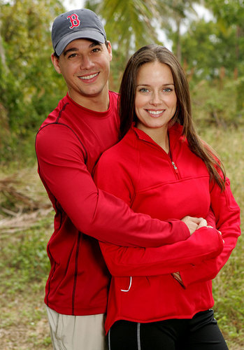 The Amazing Race achtergrond entitled Rob & Amber