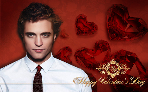 Robert Pattinson Happy Valentine's Day!