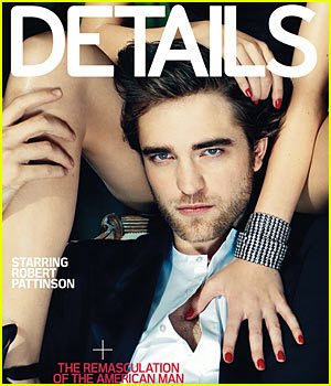 Robert Pattinson in Details magazine