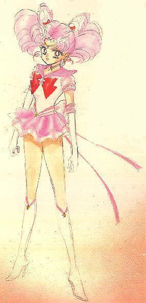 Sailor chibi Moon (Rini) manga