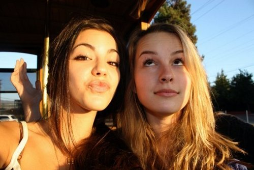 Samantha Boscarino and Bridget Mendler