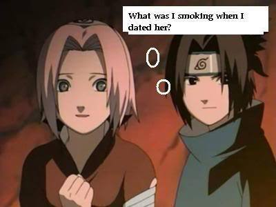 Sasuke is wondering XD