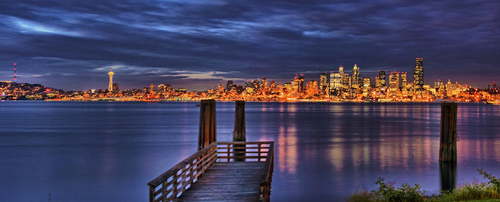 Seattle Pan HDR