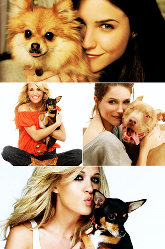Sophia with Cariie Underwood.