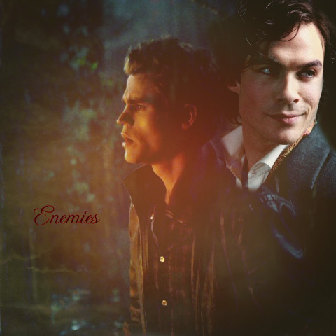 Damon and Stefan Salvatore پیپر وال called Stefan and Damon