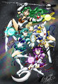 The Eternal Outer Senshi peminat art