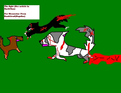 The Fight (The story is in BarkClan)