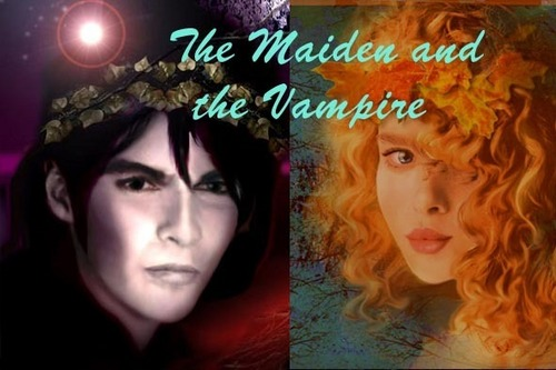 Vampire Diaries Books wallpaper called The Maiden and the Vampire