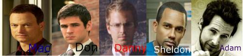 The Men of CSI:NY