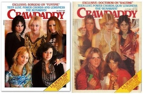 The Runaways magazine cover