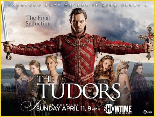 The Tudors achtergrond called The Tudors- Final Season Promo Poster