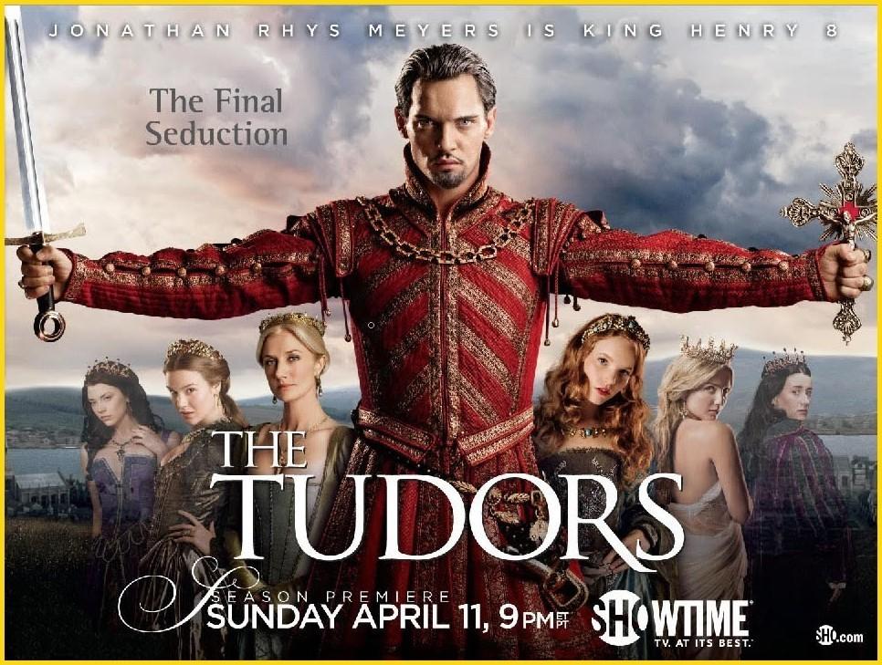 The Tudors- Final Season Promo Poster