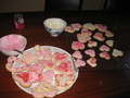 The beautiful cookies I made with my sister cause I'm single and had nothing to do on SAD! :P - singles-awareness-day photo