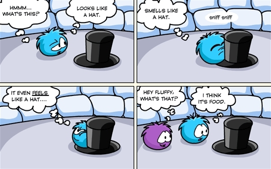 Club Penguin The Mind Of A Puffle