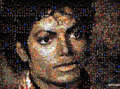 Thriller mosaic - michael-jackson photo
